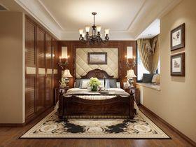 140平米美式风格卧室图