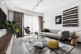 100平米三室两厅北欧风格客厅装修图片大全