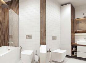 100平米三室一厅北欧风格卫生间装修图片大全