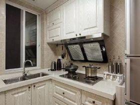 140平米三美式风格厨房橱柜装修效果图