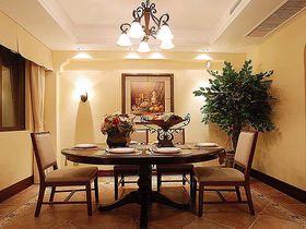 10-15万130平米三室两厅美式风格餐厅欣赏图