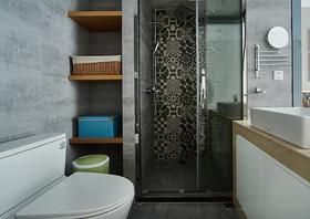 130平米三室一厅北欧风格卫生间图片