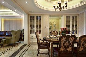 富裕型140平米四室两厅混搭风格餐厅欣赏图