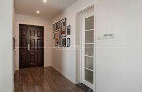 110平米三室一廳現代簡約風格玄關圖片大全
