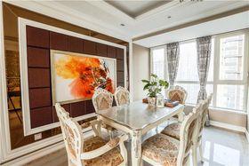 豪华型140平米三室两厅混搭风格餐厅图片