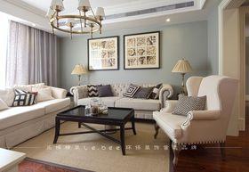 90平米三室两厅美式风格其他区域设计图