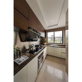 130平米四室两厅中式风格厨房装修案例
