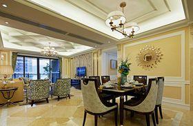 100平米新古典风格餐厅设计图