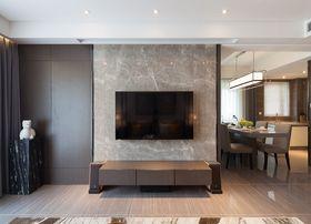 80平米中式风格客厅装修案例