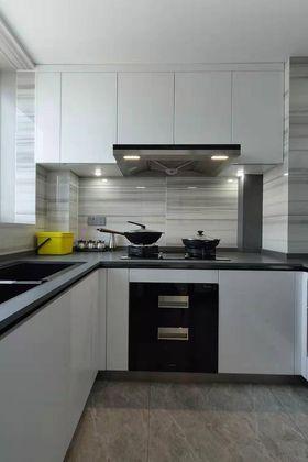 110平米现代简约风格厨房图片大全