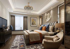 120平米复式现代简约风格卧室图