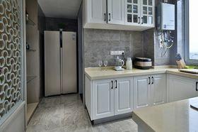 60平米一居室美式风格厨房图片