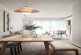 80平米三室两厅现代简约风格阳光房设计图