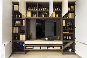 130平米三室两厅现代简约风格储藏室设计图