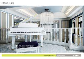 20万以上140平米别墅混搭风格混搭家具图