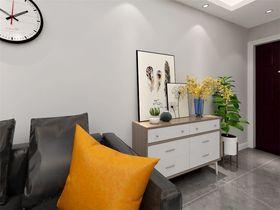 70平米三室两厅现代简约风格玄关效果图