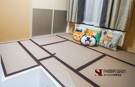 5-10万110平米三室两厅现代简约风格儿童房设计图