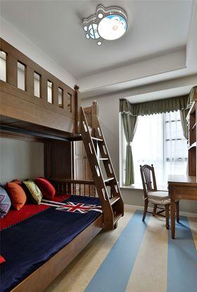 120平米三室两厅中式风格儿童房图
