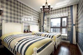 120平米四室两厅美式风格儿童房效果图