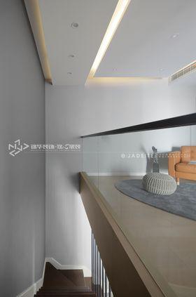 120平米复式现代简约风格阁楼装修效果图