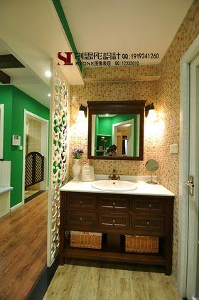 經濟型80平米三室兩廳美式風格衛生間圖片