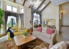 豪华型140平米别墅美式风格客厅图片大全
