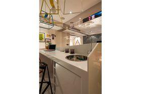 110平米三室两厅混搭风格厨房图片