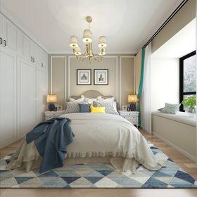 90平米三室兩廳現代簡約風格臥室裝修圖片大全