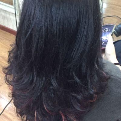 丽人 美发图库 烫发作品图  5020 创意烫发 中发 女图片