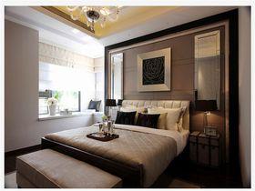 5-10万110平米三室两厅现代简约风格卧室装修案例
