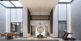 140平米别墅中式风格健身室效果图