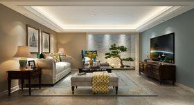 10-15万140平米别墅现代简约风格影音室装修图片大全