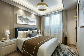 90平米三室两厅现代简约风格卧室欣赏图