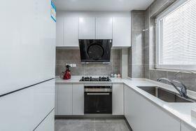 90平米三混搭風格廚房圖片大全