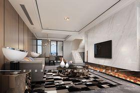 15-20万120平米复式现代简约风格客厅图