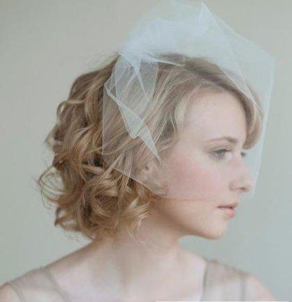 婚庆策划之短发新娘