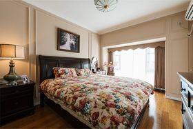 120平米三室一厅混搭风格卧室装修图片大全