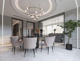 140平米別墅現代簡約風格餐廳裝修圖片大全