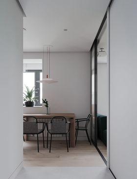 50平米小户型现代简约风格餐厅图