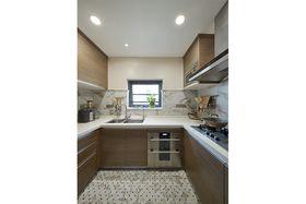 120平米三室两厅混搭风格厨房欣赏图