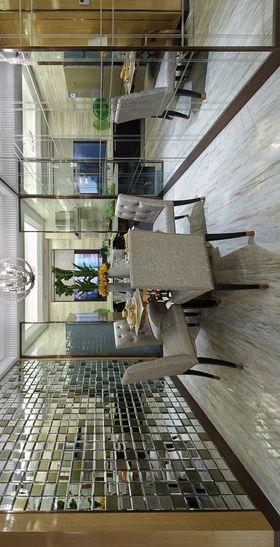 100平米三室两厅现代简约风格餐厅图片大全