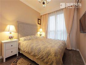 富裕型120平米三室两厅美式风格卧室图