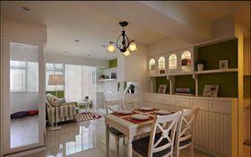 经济型60平米三室一厅美式风格客厅装修图片大全