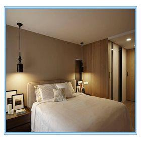 5-10万90平米现代简约风格卧室欣赏图