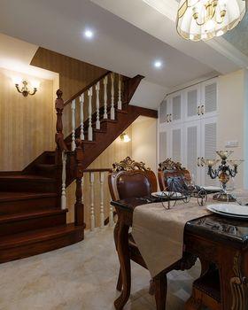 10-15万90平米复式美式风格楼梯图片