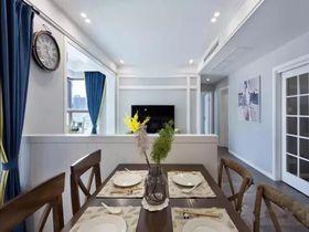 100平米三室两厅美式风格美式吊顶图片大全