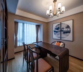 120平米四室两厅中式风格书房欣赏图