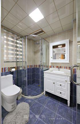 豪华型140平米四室两厅美式风格卫生间效果图