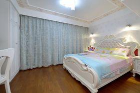 富裕型140平米别墅混搭风格卧室设计图