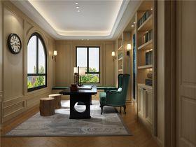 140平米别墅其他风格书房效果图